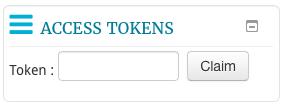Access token box